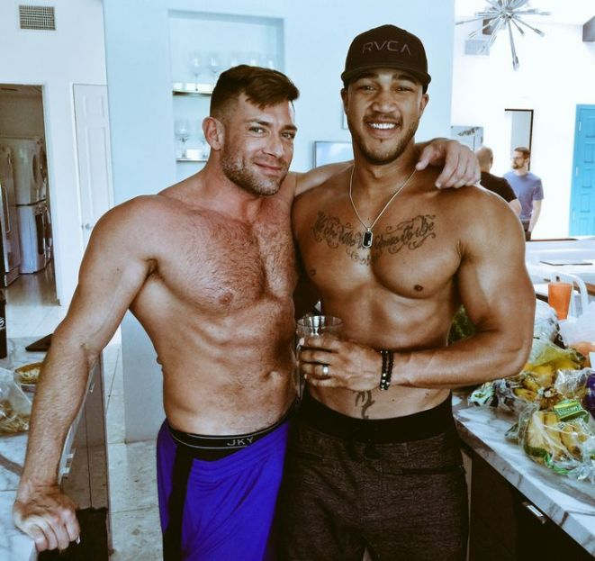 Bruce Beckham and Jason Vario