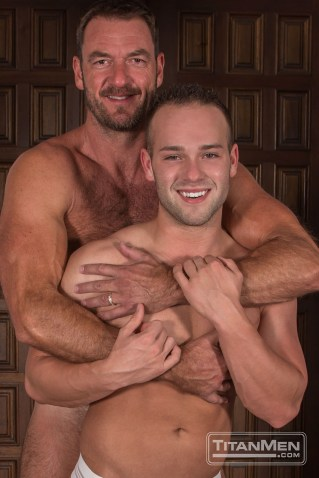 Anthony London and Luke Adams