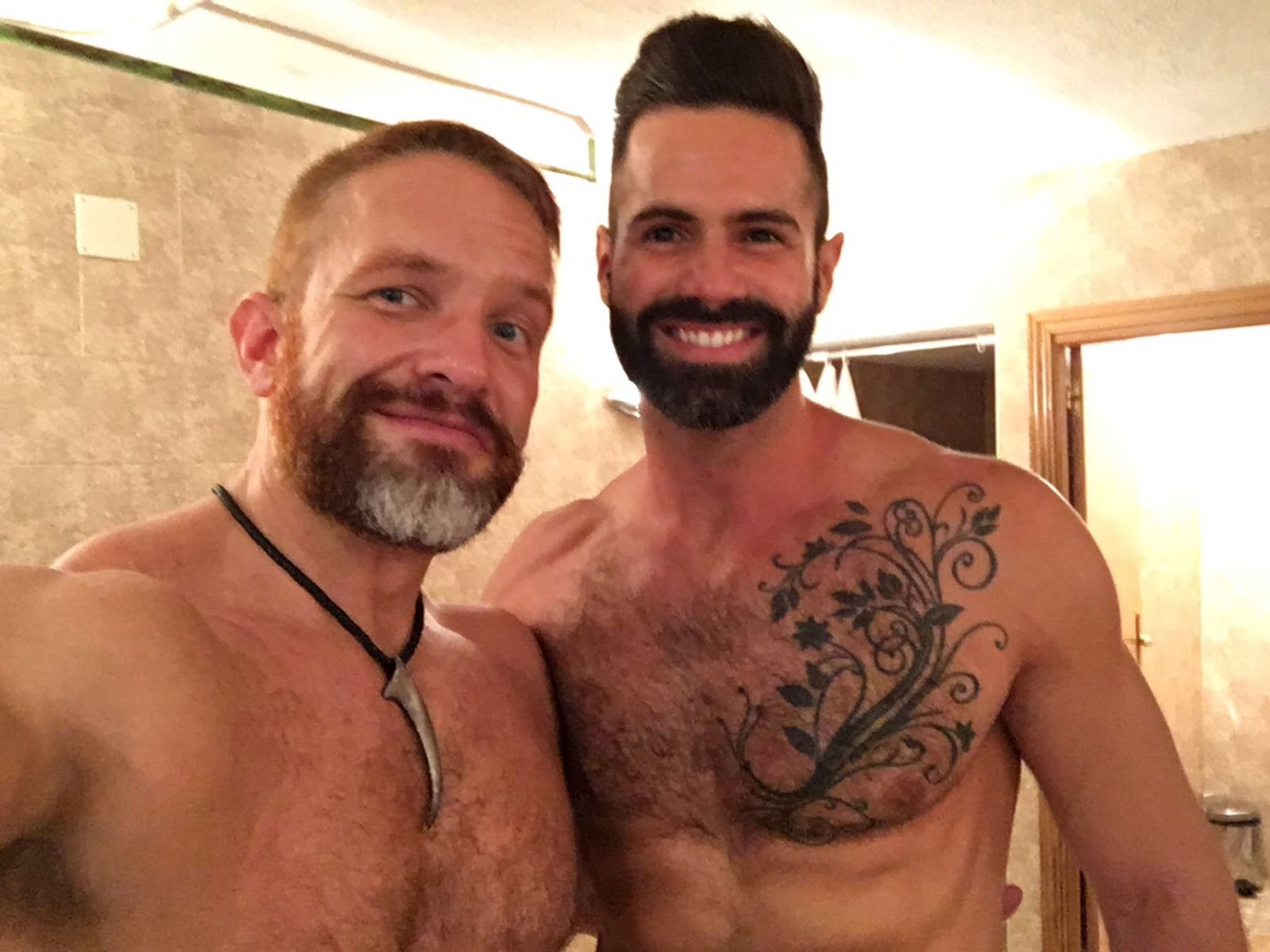 Dirk Caber and Dani Robles