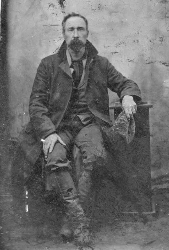 Frank James 1880s crop