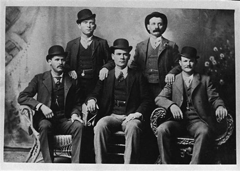 Butch and the Wild Bunch, Ft Worth, TX 1900