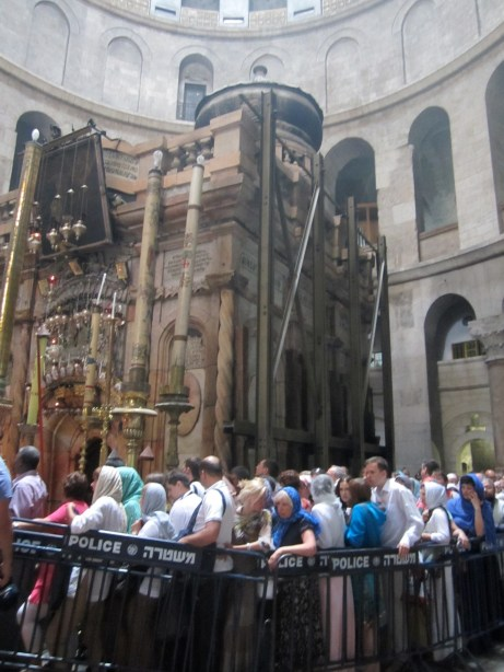 "The ""Tomb of Christ"" in the Church of the Holy Sepulchre"