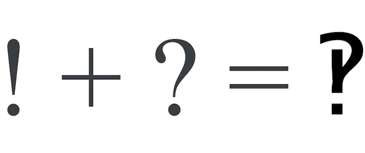 The Interrobang as a Metaphor for the Hypostatic Union