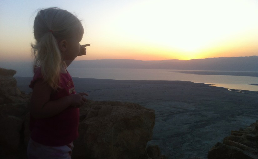 Sunrise at Masada