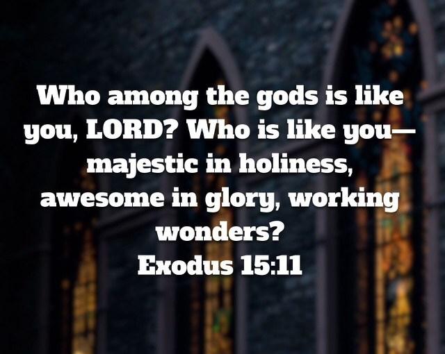 Exodus Memory Verse