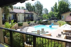 Laguna Hills Condo Pool View