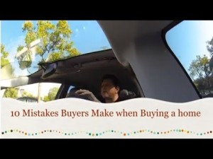 10 mistakes buyers make when buying a home