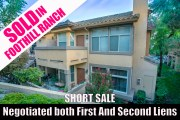 Orange County Short Sale: A solution for homeowners upside down on their mortgage.