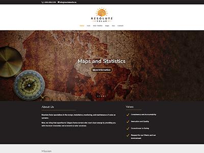 Resolute Solar | Web Design