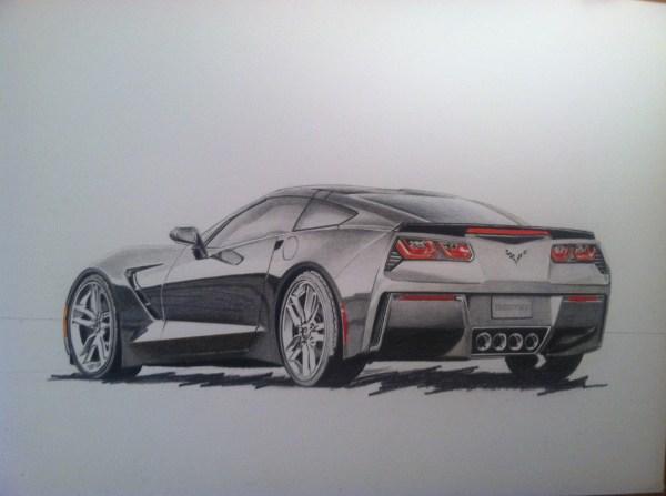 Car Art Jessemonroeart