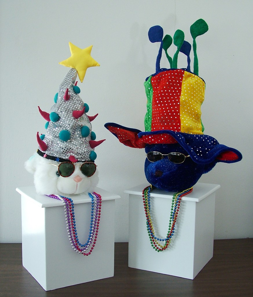 party hats nearing completion2