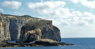 La cote ouest de Gozo