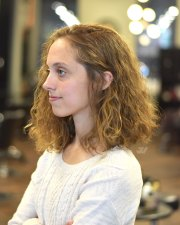 Curly Bob Haircut