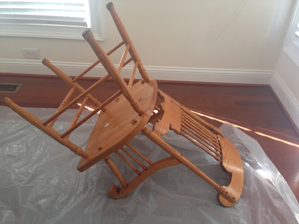 chair rail upside down gray fabric dining chairs uglyoakrefurb part jess