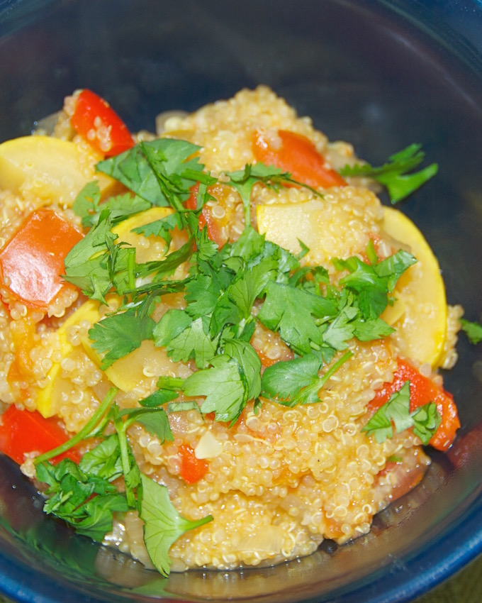 Curried Quinoa and Veggies