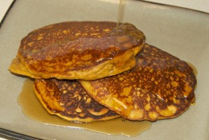 Pumpkin Quinoa Pancakes