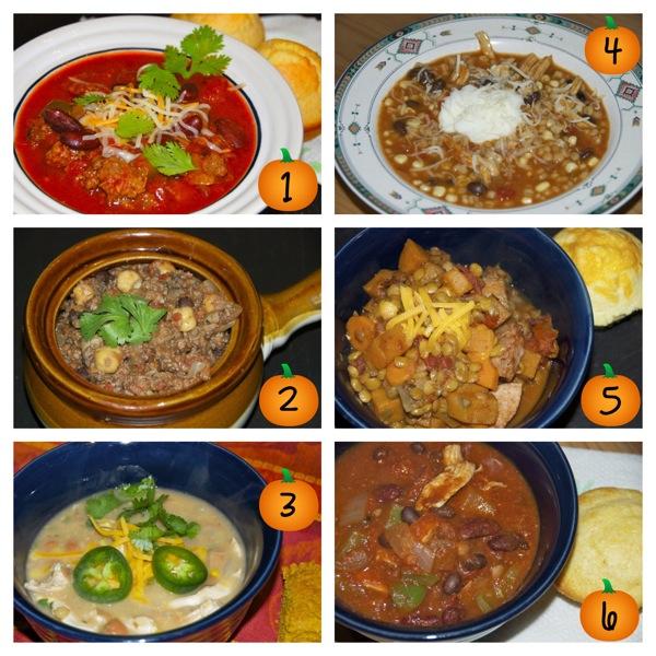 6 Chili Recipes