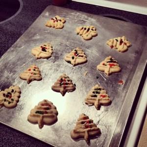 12 Days of Christmas Cookies: Classic Spritz Cookies