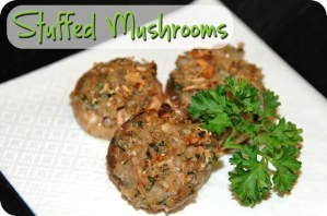 SRC: Stuffed Mushrooms