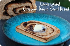 SRC: Whole Wheat Cinnamon Raisin Swirl Bread