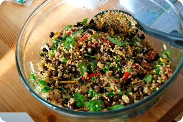 Roasted Red Pepper and Quinoa Enchiladas1