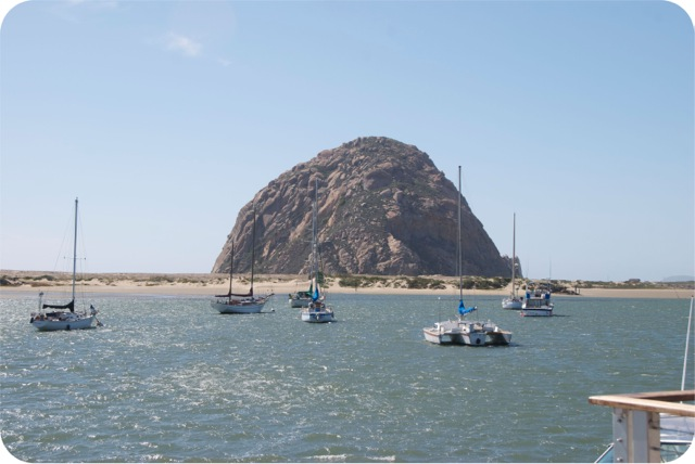 Morrow Rock, Morrow Bay, California