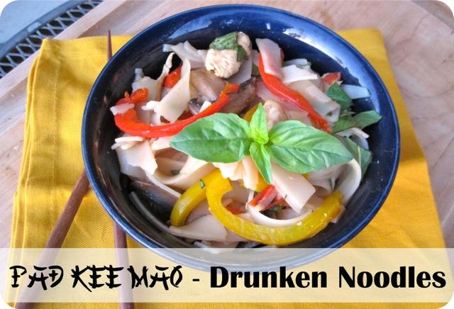 Pad Kee Mao - Drunken Noodles