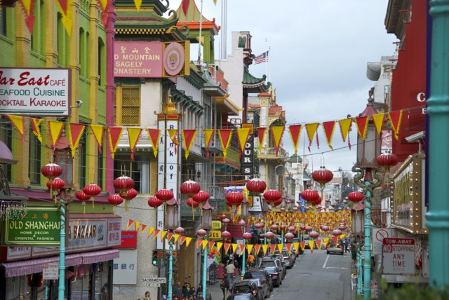 Chinatown, San Francisco, CA
