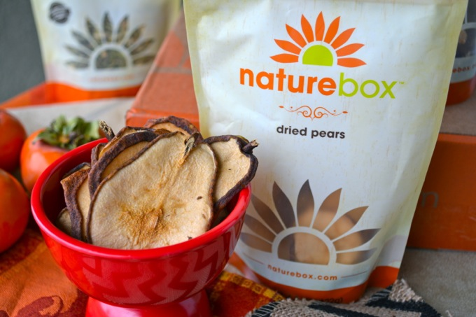 NatureBox Dired Pears