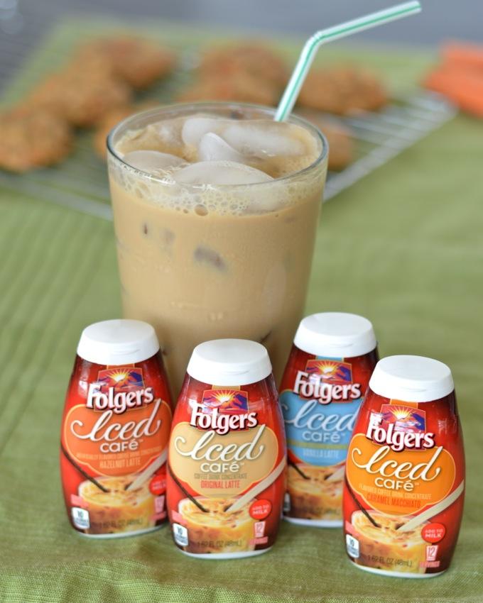 Folgers Iced Cafe #MyIcedCafe