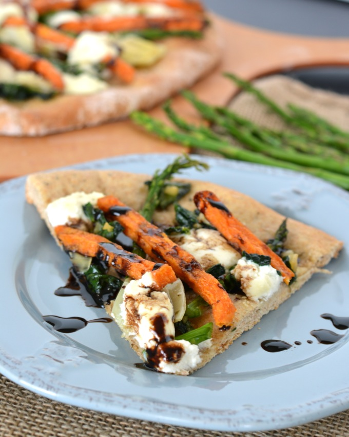 Spring Sweet Potato Flatbread