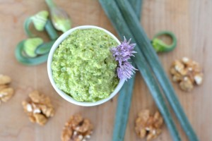 Harvest Fridays – Garlic Scape Pesto