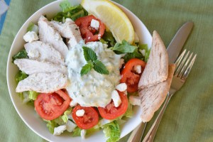 Chicken Tzatziki Salad