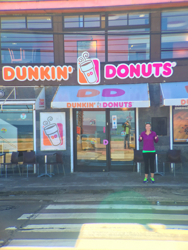Dunkin Donuts in Chile
