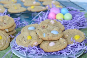 Milk Chocolate Easter Egg Cookies