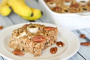 Chai Spiced Banana Bread Baked Oatmeal