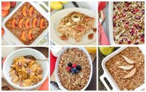 15 Easy Baked Oatmeal Recipes