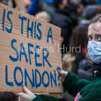 Sisters Uncut Protest New Scotland Yard