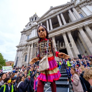 St Paul's Welcomes Little Amal