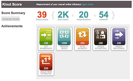 What the heck is Klout?  (1/2)