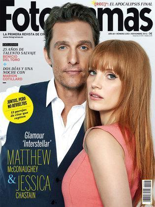 Image result for matthew mcconaughey and jessica chastain