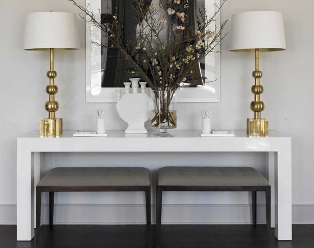 The Art of Styling Console Tables  Jessica Elizabeth