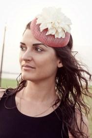 Evangelia Paschalia Millinery Jessica Morfis Fotografie people portrait