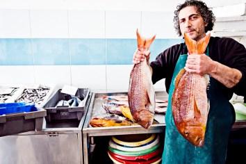 fischverkäufer sitia