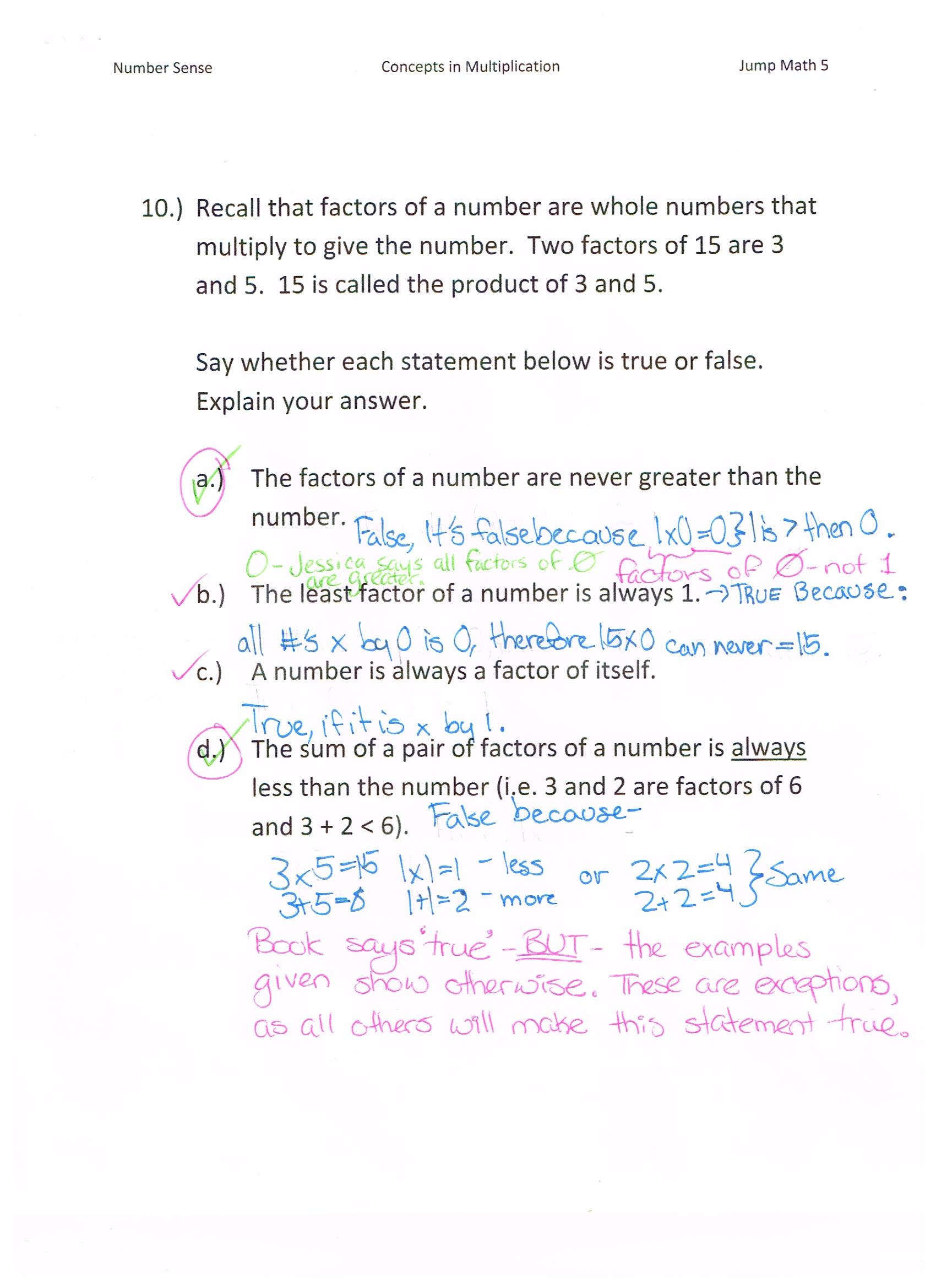 hight resolution of Jump Math 5.1 Number Sense – Multiplication – Page 77   Jessica's School  Work \u0026 Projects