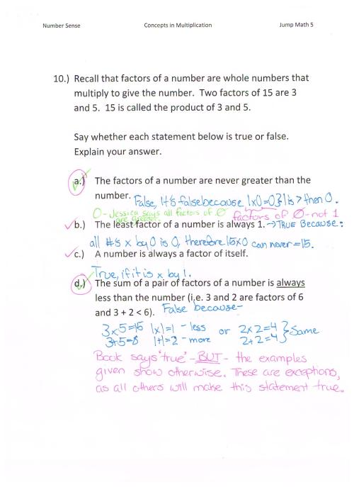small resolution of Jump Math 5.1 Number Sense – Multiplication – Page 77   Jessica's School  Work \u0026 Projects
