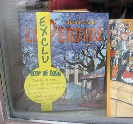 La Perdida, published by editions Delcourt, nominated for an award at the FIBD Angouleme