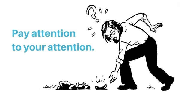 Pay attention to your attention.