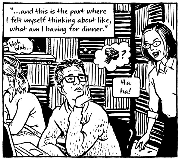 Ira Glass gets bored in a story meeting