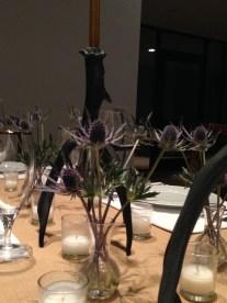 Oktoberfest Table flowers